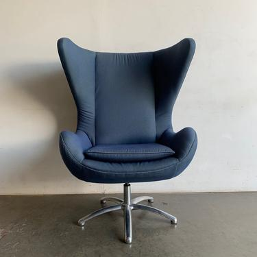 Quality reproduction egg chair by Cypress Furniture by VintageOnPoint