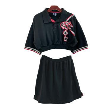 2pc Five Elements Polo Dress Set