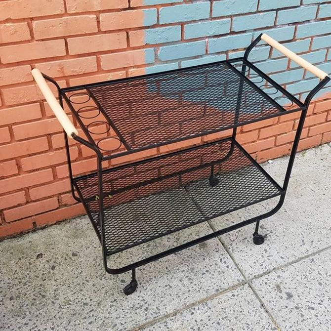 Iron Bar Cart, $62.