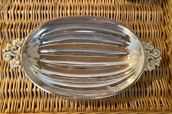 Tiffany and Co Sterling Melon Form Bowl c 1940s