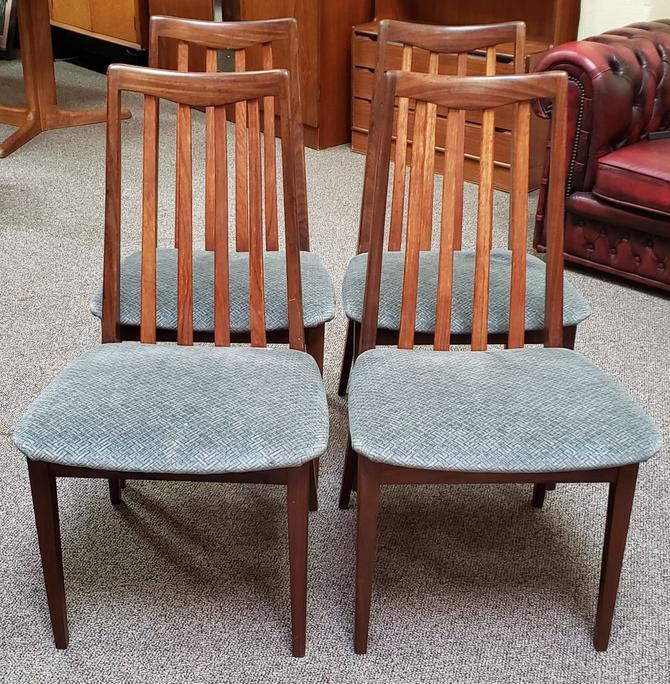 Item #MA23 Set of Four Teak Dining Chairs c.1960