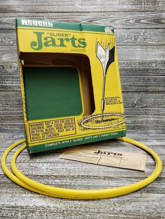 89221169 Vintage Regent Slider Jarts, Yard Missile Game, JaRtS NoT InCLUded ...