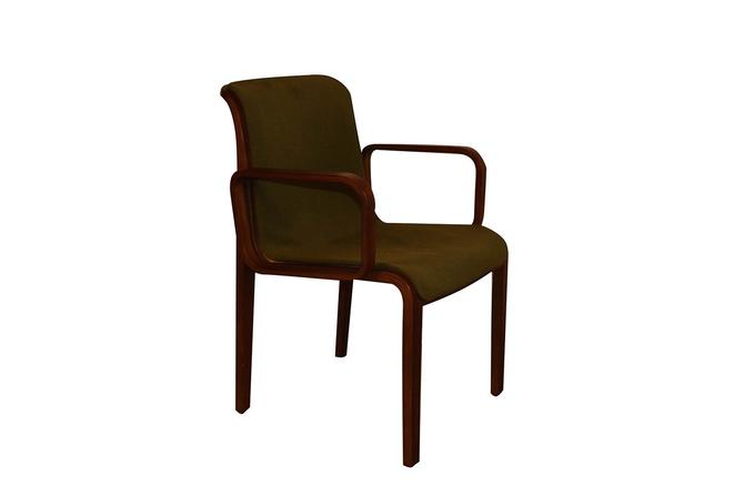 Mid Century Bill Stephens Knoll Bentwood Chair by Marykaysfurniture