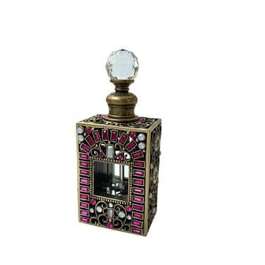 Vintage Jeweled Perfume Bottle by FunkyRelic