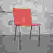 Vintage Burnt Orange Chairs