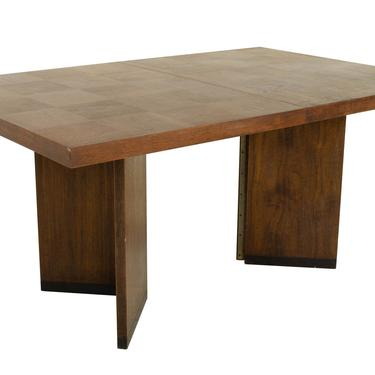 Paul Evans Style Lane Brutalist Mid Century Patchwork Dining Table - mcm by ModernHill