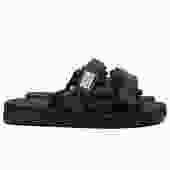 Moto Sandals (Black)