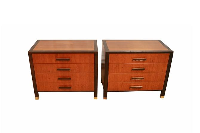 Pair Mid Century Harvey Probber Nightstands End Tables by Marykaysfurniture