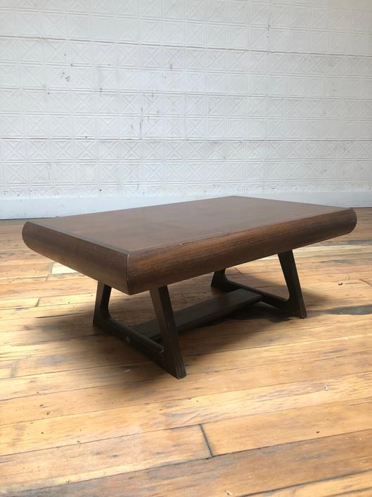 Mid Century Modern Walnut End Table