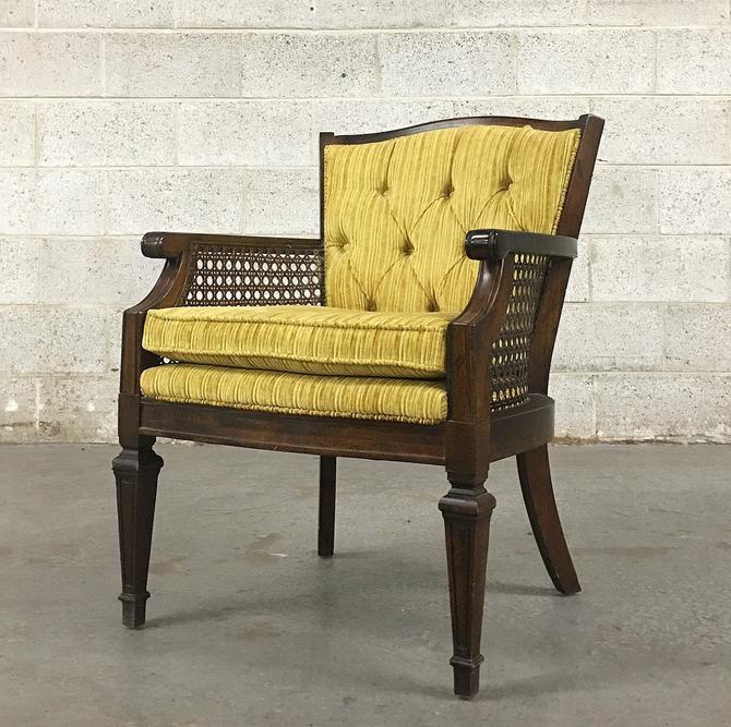 LOCAL PICKUP ONLY ———— Vintage Tufted Chair by RetrospectVintage215