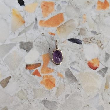 XS Amethyst Scarab Pendant by EmilyMarquisDesigns