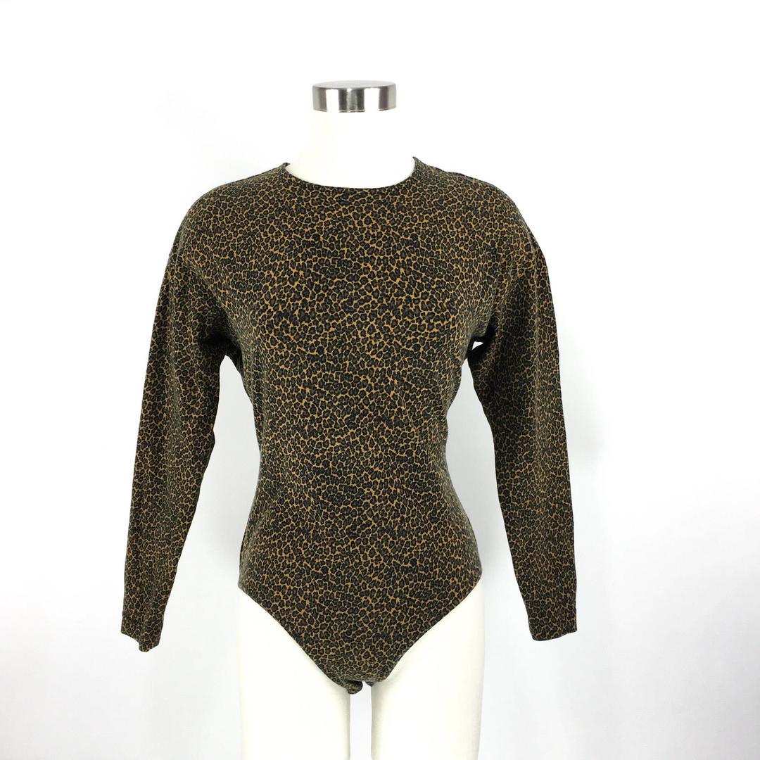 78e691591b31 Womens Leotard Long Sleeve Bodysuit
