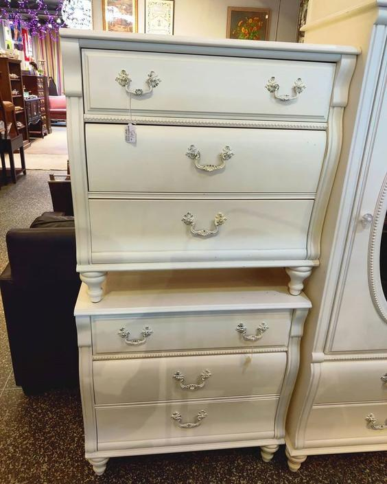 """Big nightstands, small chests. Three luxurious drawers. 30"""" x 18"""" x 30"""""""