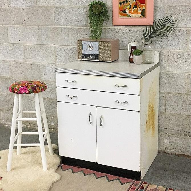 LOCAL PICKUP ONLY ------------- Vintage Kitchen Cabinet by RetrospectVintage215