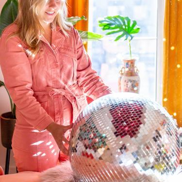 "24"" Disco Ball Mirror Ball || THE GRACE || XXLARGE by LivingColorfullyShop"