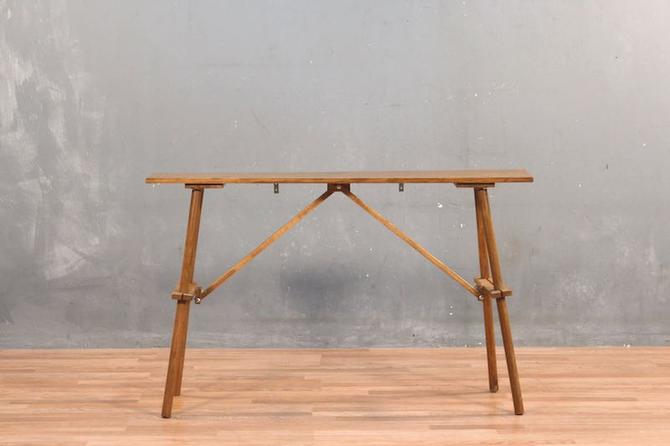 Rustic Mid Century Console Table – ONLINE ONLY