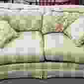 "Item #TP6 Gorgeous Vintage ""Bernhardt"" Sofa w/ Pillows"