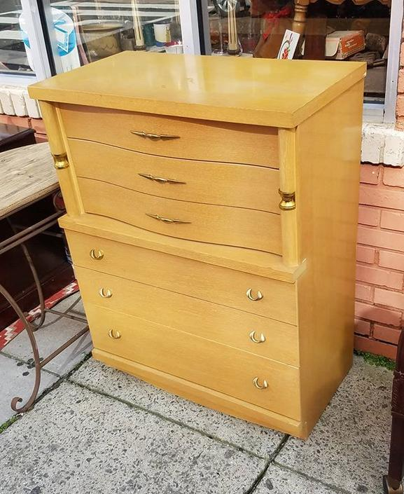 Modern Four Drawer Chest,