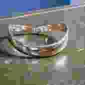 Pop Lock Lanvin Metal Hinged Collar