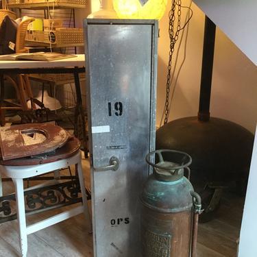 Industrial Aluminum Locker from Sparrow's Point