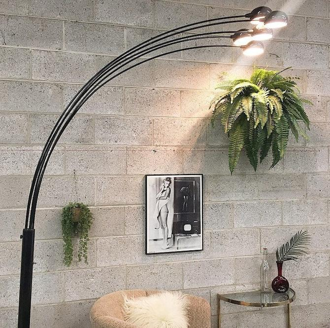 LOCAL PICKUP ONLY ------------- Vintage Floor Lamp by RetrospectVintage215