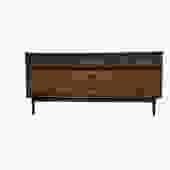 #424: 9 Drawer Mid Century Dresser