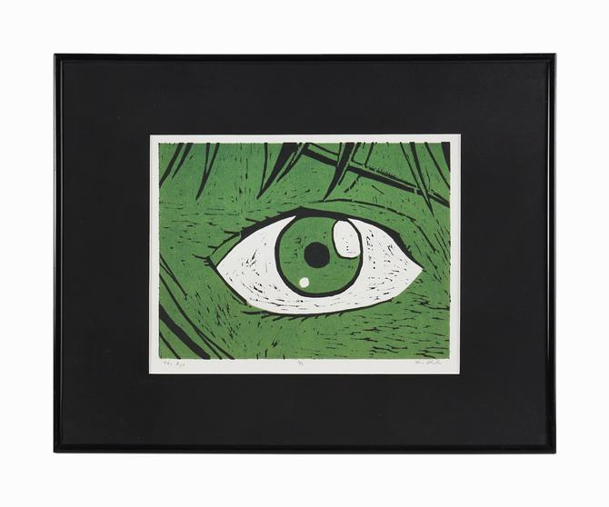 """Vintage """"The Eye"""" Woodcut Print on Paper by VintageInquisitor"""
