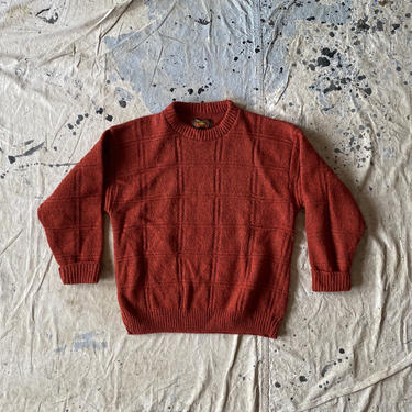 Vintage Alps Outdoor Wool Pullover Crewneck Sweater Made in USA by NorthGroveAntiques