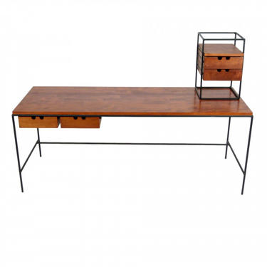 Paul McCobb Iron and Maple Console