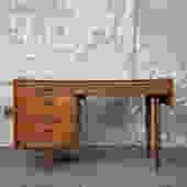 Vintage mid century modern conant ball desk