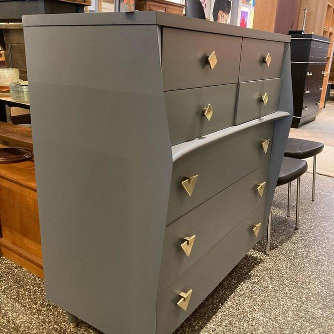 """mid century chest of drawers. 40"""" x 22"""" x 45.5"""""""