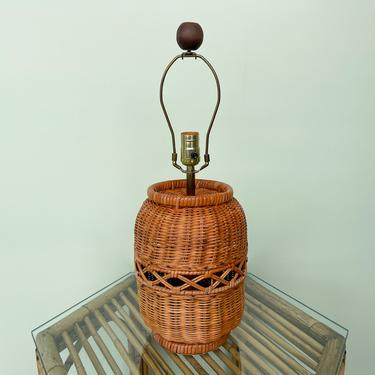 Sweet Wicker Lamp
