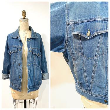 90s jean jacket by harlowandspring