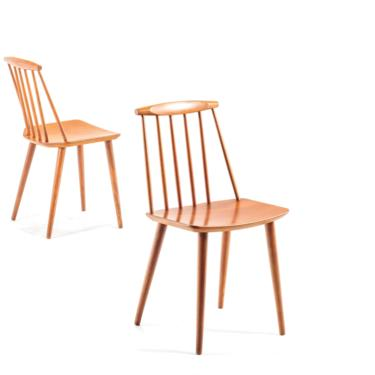 Set of Two (2) Farmhouse Spindle Chairs designed by Folke Palsson for FDB Mobler, Denmark by ABTModern