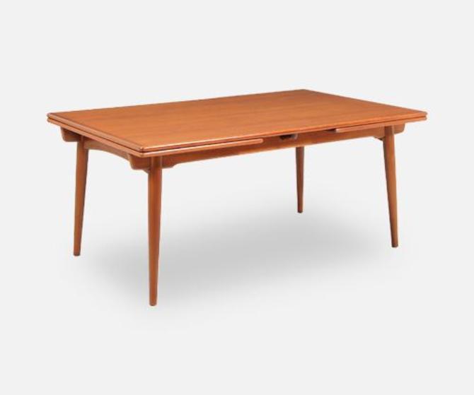 Hans J. Wegner AT-312 Dining Table for Andreas Tuck