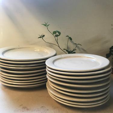 handmade dinner plates, pottery dinnerware, ceramic plate, pottery dishes, place set, wedding registry, dinnerware, white dinnerware, plates by altheaspottery