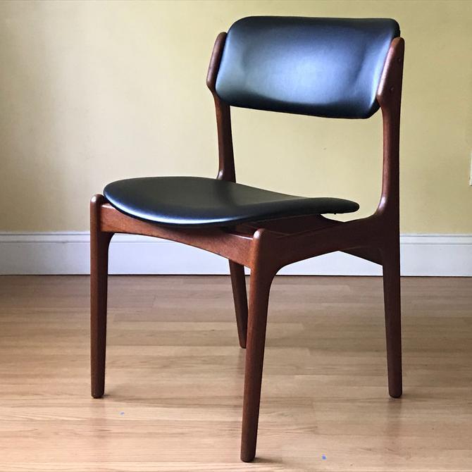 ONE Erik Buch Teak Dining Side Chair by OD Mobler, side chair, desk chair, bedroom chair by ASISisNOTgoodENOUGH