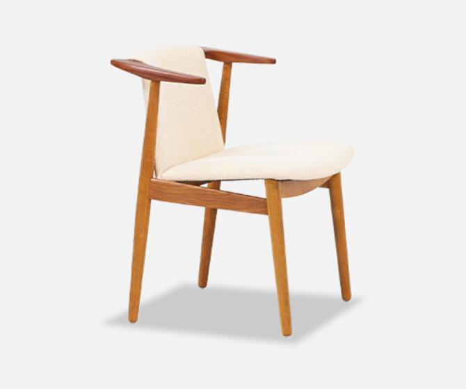 Hans Olsen Teak & Oak Armchair
