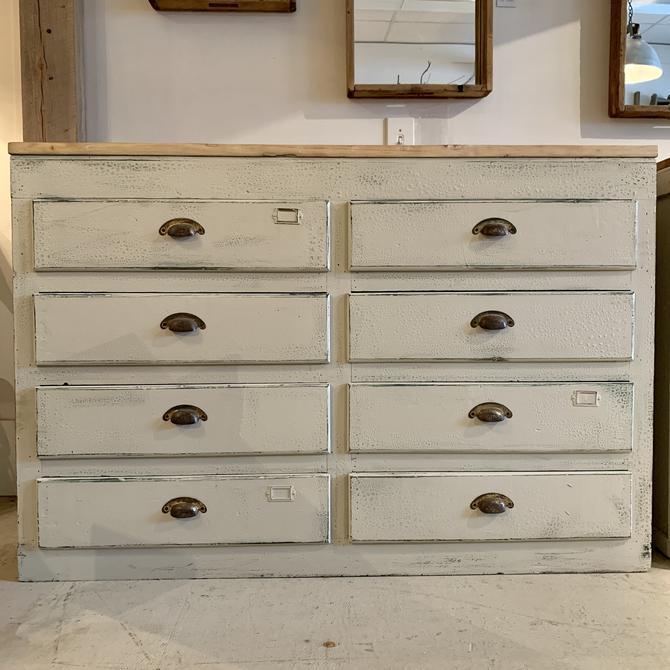 Vintage 8-Drawer Cabinet #1