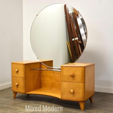 Heywood Wakefield Maple Vanity by mixedmodern1