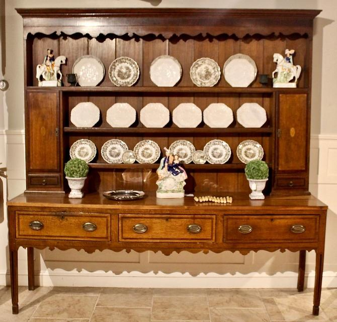 18th Century Welsh Dresser in Oak