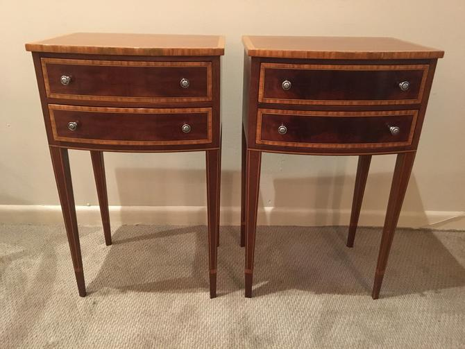 Pair of J. Widdicomb side tables by ClassicAntiquesPHL