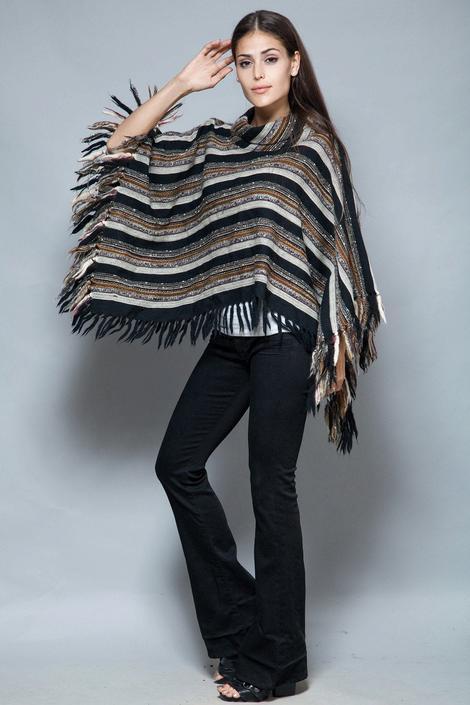 cape poncho blanket shawl wool pirkko maki one size vintage Arolan Kutomo Toijala Finland S M L SMALL MEDIUM LARGE by shoprabbithole