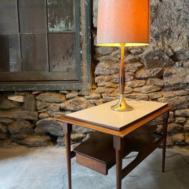 Mid century table lamp Danish modern table lamp a pair mid century lighting by VintaDelphia