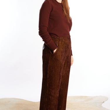 SERIEN UMERICA Red Velvet Trousers