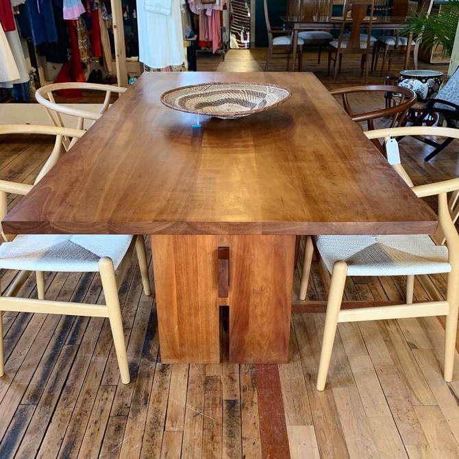 Vermont Furniture for Room & Board Cherry Dining Table
