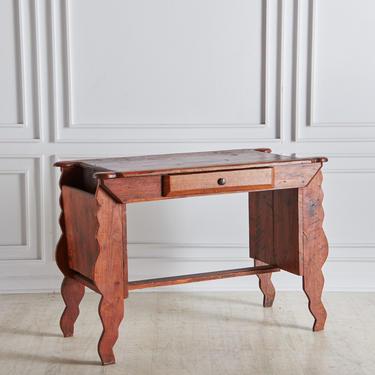 Antique Swedish Wood Desk