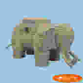 Medium Elephant Trunk by Mario Lopez Torres