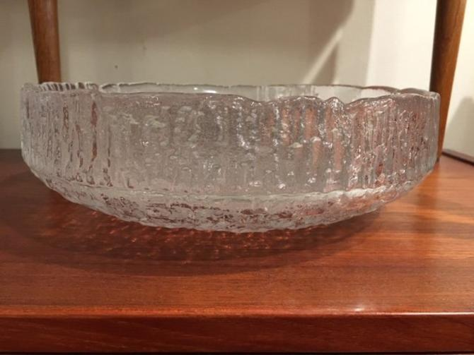 Kosta Boda Swedish Glass Bowl