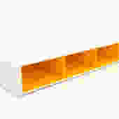 Herman Miller Mid Century Modern Twin Bed - Orange